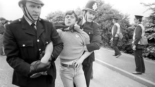 Rally to mark 34th anniversary of 'Battle of Orgreave' in miners' strike