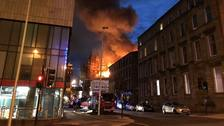This is the second blaze at the Mackintosh building.