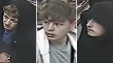 CCTV images released of youths after spate of robberies in Swindon