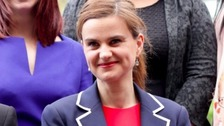 Tributes to MP Jo Cox on 2nd anniversary of her death