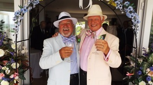 Alderney's first same-sex marriage has taken place