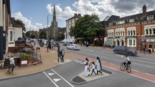 How London Road could look after the works