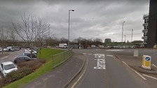 Road closed and man seriously injured following crash in Newport