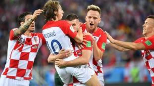 Croatia top Group D after win over Nigeria in Kaliningrad