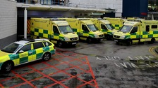 North West paramedics stage strike action