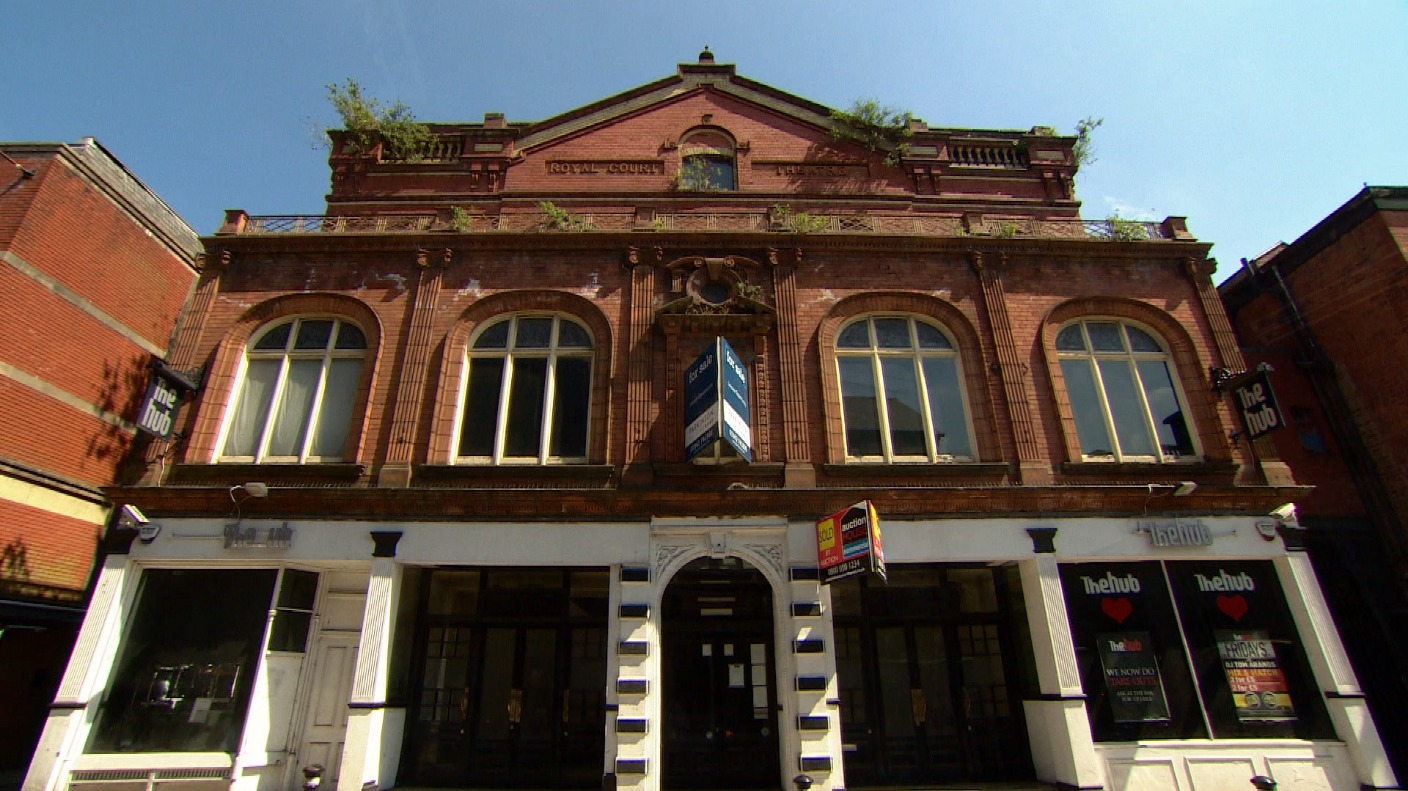 Wigan S Royal Court Theatre To Be Restored Granada Itv
