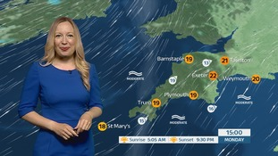Mostly dry week ahead