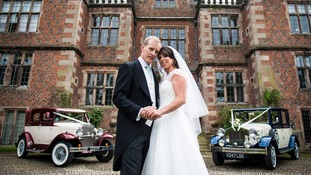 Olympic gymnast Beth Tweddle shares pictures of her Cheshire wedding