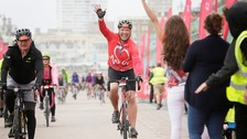 Millions raised as 16,000 cycle from London to Brighton