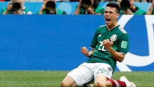 Lozano strike stuns holders Germany in famous Mexico win