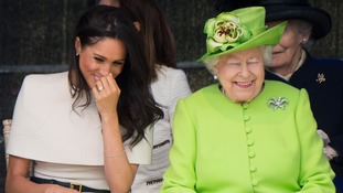 Meghan has been settling into royal life after being shown the ropes by the Queen.