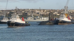 Submarine in Devonport