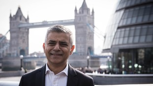 Sadiq Khan at City Hall
