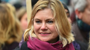 Former cabinet minister Justine Greening