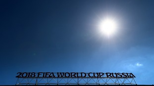 Sun at the world cup