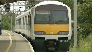 A regional cross country train