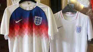 Can you spot a fake England football shirt?