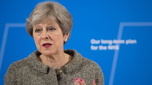 Taxpayers will contribute 'a bit more' for NHS funding boost, Prime Minister Theresa May announces