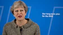 Theresa May urges Welsh Government to spend funding boost on NHS