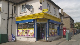 Police say Daniel Fitzjohn was involved 'an altercation' with a number of men at Fairfields News in Fairfield Road