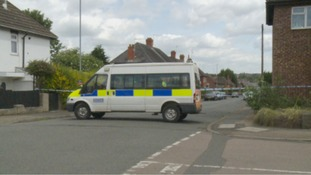 Northamptonshire police investigating the murder of Daniel Fitzjohn want to trace two men and a grey Mini car.