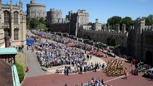The crowds returned to Windsor on Monday.