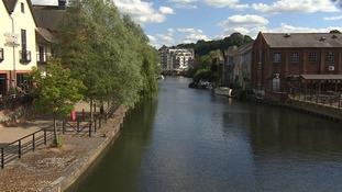 Riverside in Norwich.