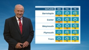 Drizzle and cloudy night in the South West