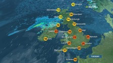 Warm, humid and cloudy in places before sunny spells