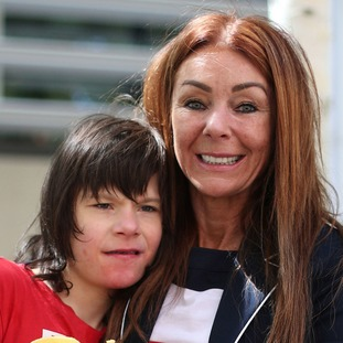 Charlotte Caldwell and 12-year-old son Billy, who has acute epilepsy.