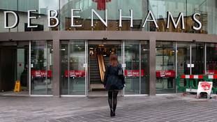 Debenhams blames competitor discounting and weak markets for profit warning