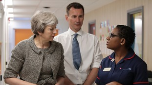 Health Secretary Jeremy Hunt requested more funding for the NHS.