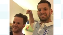 Burnley barber flies to Russia to cut England footballers' hair