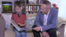 Frasier, 10, becomes an author with moving refugee book