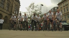 Mayor embarks on 400 mile bike challenge for city's war heroes
