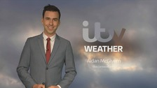 Aidan McGivern has the latest weather forecast