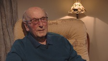 Meet England's oldest living international footballer