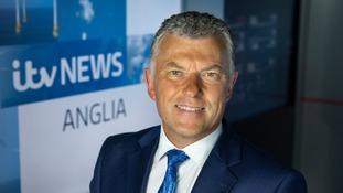 Jonathan Wills presents the main ITV News Anglia programme on ITV.