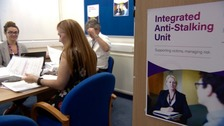 The police unit set up to protect stalking victims and reform offenders
