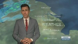 Weather forecast with Aidan McGivern