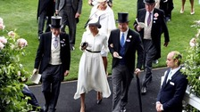 Duke and Duchess of Sussex join the crowds at Royal Ascot