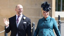 'Very happy' Zara and Mike Tindall welcome baby daughter