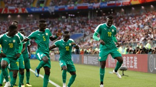 Mbaye Niang was on the scoresheet as Senegal held off Poland in a 2-1 victory in Group H