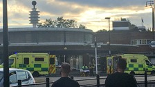 Several injured after 'explosion' at Southgate tube station