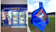 Poundworld staff are being given interviews at Ipswich Town.