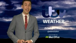 Late weather forecast with Aidan McGivern