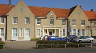 The Gosport War Memorial Hospital in Hampshire.