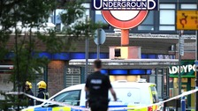 Man arrested over Southgate Tube station blast