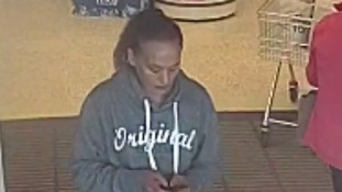 CCTV image of the woman police would like to trace