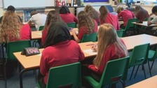 Fall in satisfaction with Welsh secondary schools
